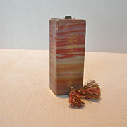 REDUCED Coty Perfume Bottle with Perfume Circa 1930's
