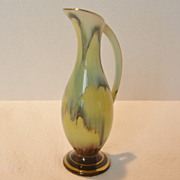 Arnart Art Glass Pitcher