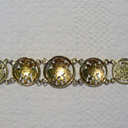 REDUCED Pre-revolution Russian Coin Bracelet