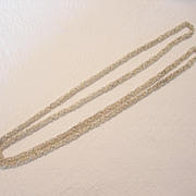 Handmade Silver Alloy Chain from North Africa