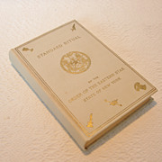 Vintage Standard Ritual of the Order of the Eastern Star, State of New York