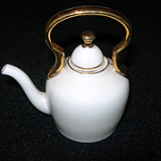 SALE Mini Porcelain Tea Pot