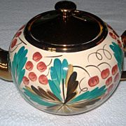 SALE Wade Copper Luster Ware Tea Pot & Sugar Bowl