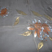 SALE Hand- Painted Sheer Scarf