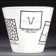 Novelty Roger Price Droodle Cup - 1954
