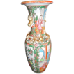 Antique Rose Medallion Vase c.1860-1880 Chinese Export Porcelain