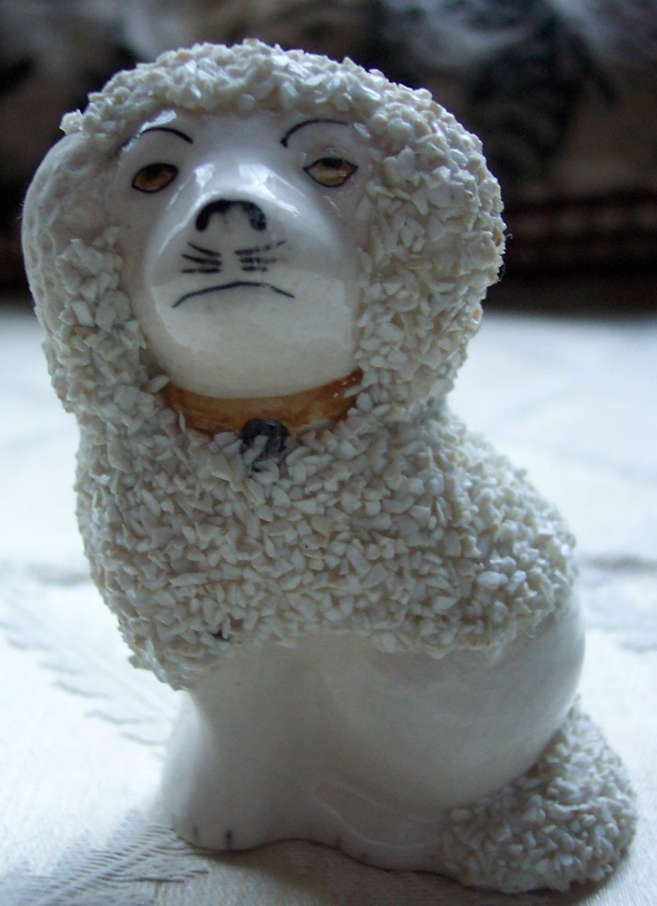 MIniature Staffordshire Style Dog -  3 1/4 inches tall