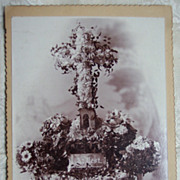 """Mother"" Memorial Cabinet Card"