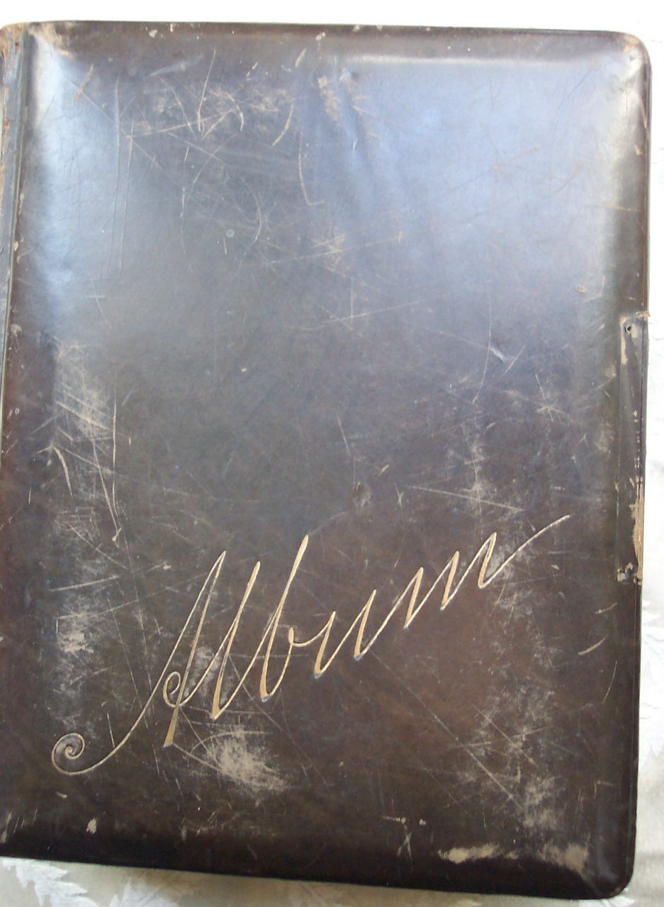 Leather Photo Album - Late 1880's through Early 1900's