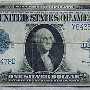 Woods-White Oversize One Dollar Silver Certificate - 1923