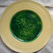 Griffin, Hill and Smith Etruscan Majolica Plate - 1883