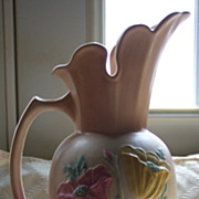 Large Hull Ewer -  Poppy Design