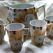 Nippon Lemonade Set - Hand Painted