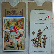 Boy Scout Membership Cards - 1923 through 1926