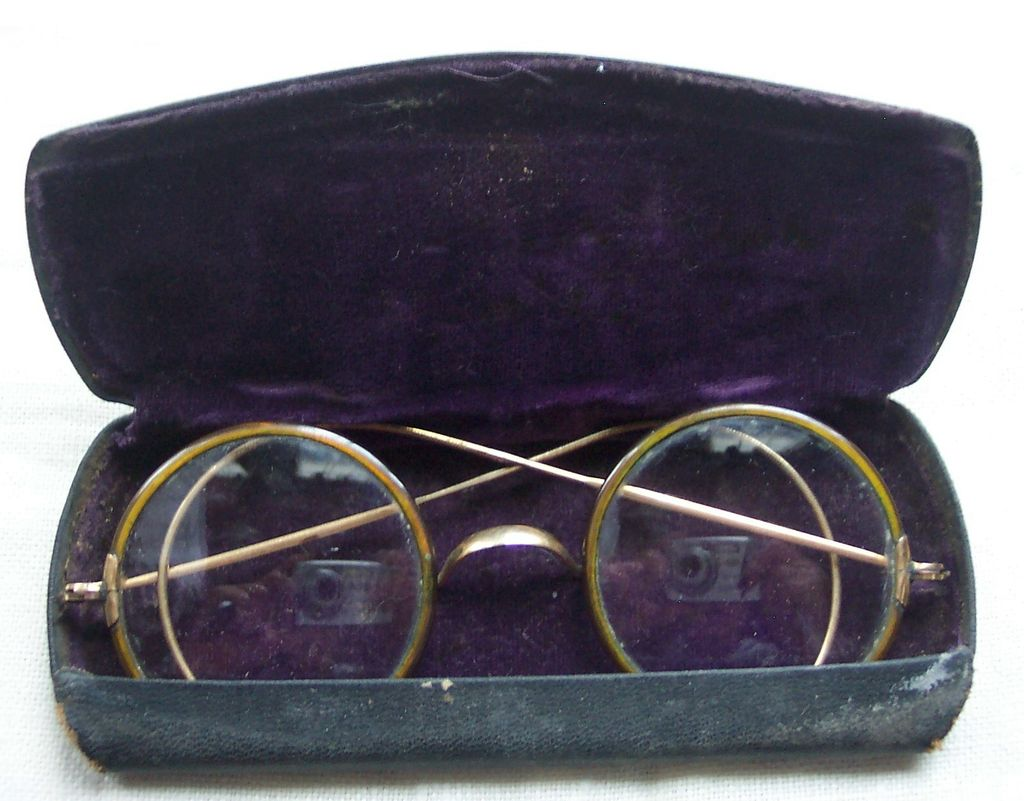 Men's Spectacles with Case - Old