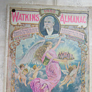 Watkins1903 Almanac Home Doctor and Cookbook