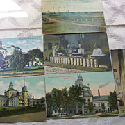 Michigan State Prison , Jackson Michigan Postcards - Early 1900's
