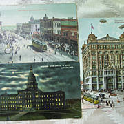 1911 State Fair Postcard with Building Postcards - Early 1900's