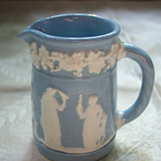 SOLD Wedgwood Queensware Miniature Pitcher