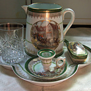 SALE Bawo and Dotter (Austria) Bedside Table Set - 1898 - 1913
