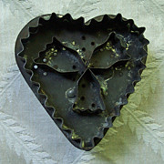 Heart Shaped Early Soldered Cookie Cutter