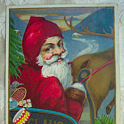REDUCED Santa Looking Back - 1920