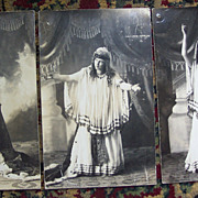 """Lizzie"" Actress as Queen Esther - 1909"
