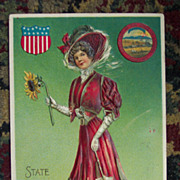Langsdorf Kansas State Ladies Series - 1908