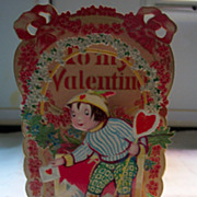 Fold Out Valentine - Excellent condition