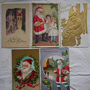 Lot 11 of Santa's - Early 1900's