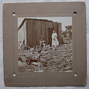 Chicken Coop Cabinet Card