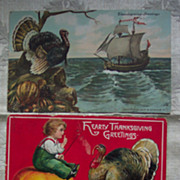 Set #7 of Thanksgiving Postcards - Early 1900's
