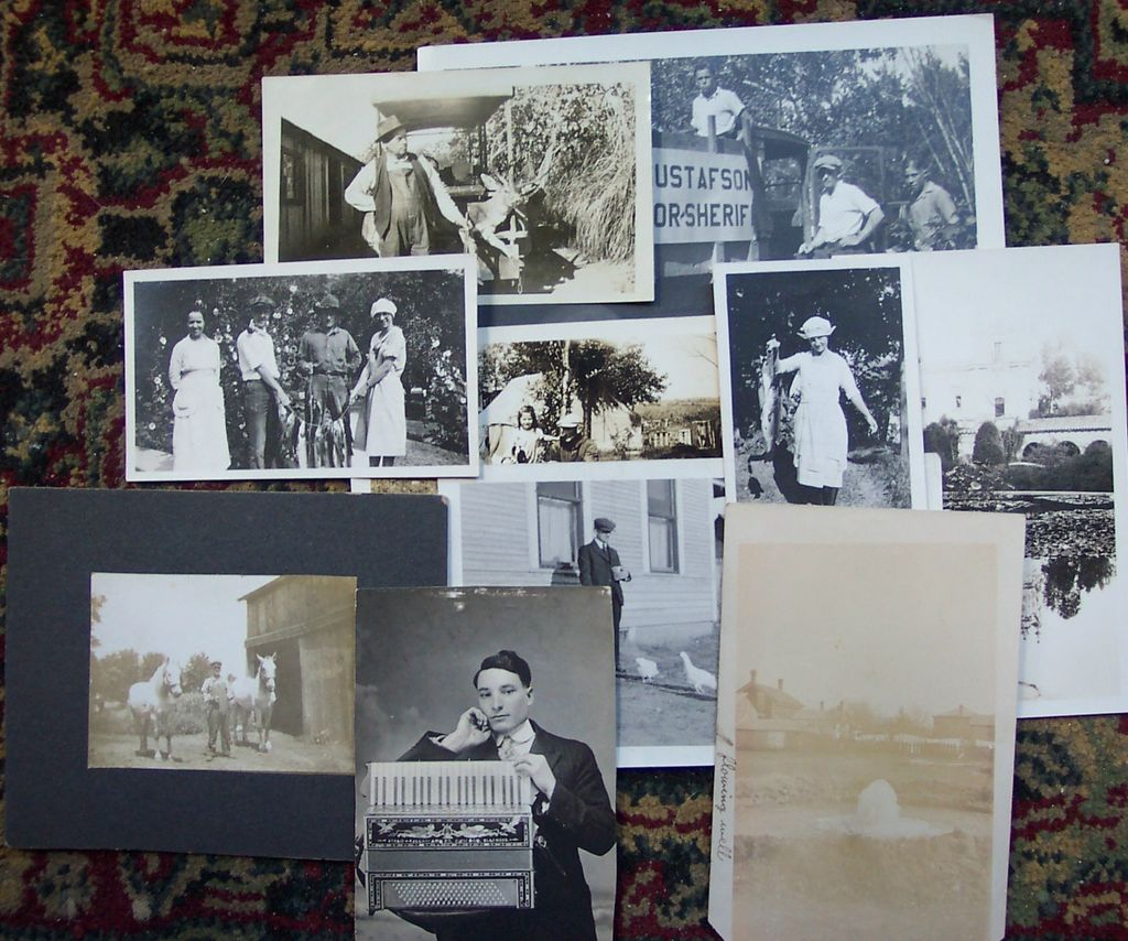 Lot of Old Photos and Postcards