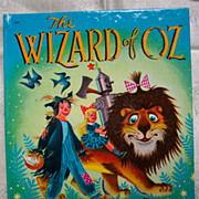 Wizard of Oz Wonder Book - Copyright 1951