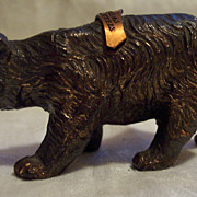 Yellowstone National Park Bronze Souvenir Bear