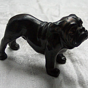Bronze English Bulldog Figure