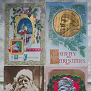 Lot of Santa Postcards - Lot H - Early 1900's