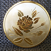 Vintage Powder Compact - Rex Fifth Avenue