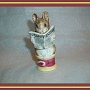 SOLD Beswick - Tailor of Gloucester- Beatrix Potter - 1949