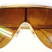 80's Bausch & Lomb Wings Ray-Ban Aviator Glasses in Case