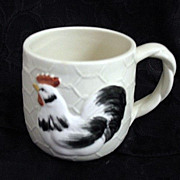 Cup or Mug 1982 Fitz & Floyd Chicken Coop