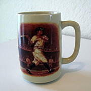 Slugger Baseball Mug Otagiri Ceramic Made in Japan