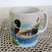 SALE Otagiri Mallard 6 Cups Set Made in Japan 1981