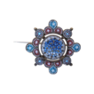 Antique Venetian Micro Mosaic brooch dated at the19th century