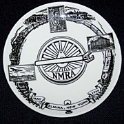 National Model Railroad Assn. Convention Plate, 1960
