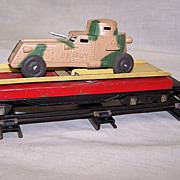 SALE American Flyer Army Unloading Car #715