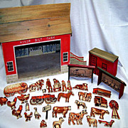 1930's Honor Bilt Farm Set