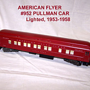 SALE American Flyer #952 &quot;Pikes Peak&quot; Pullman Car