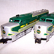 "SALE American Flyer ""Silver Rocket"" Train Set"