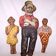 SALE Aunt Jemima 1914-26 Cloth Doll Set